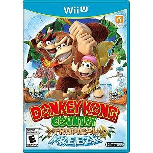 Jogo Donkey Kong Country Tropical Freeze - Wii U (Seminovo)