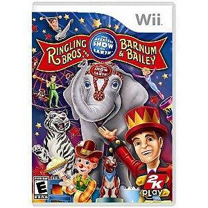 Jogo Ringling Bros and Barnum e Bailey - Wii (Seminovo)