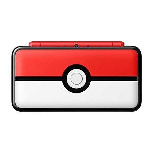 Console Nintendo 2DS XL Pokeball Edition + 25 Jogos Digitais (Seminovo)