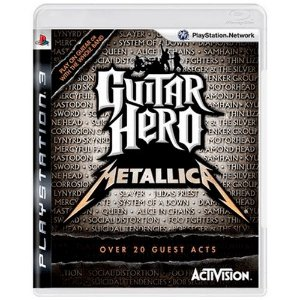 Jogo Guitar Hero Metallica - PS3 (Seminovo)