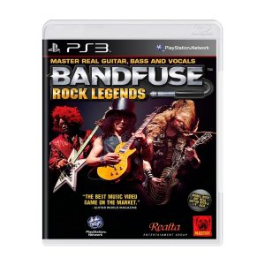Jogo Bandfuse rock legends - PS3 (Seminovo)
