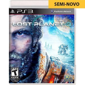 Jogo Lost Planet - PS3 (Seminovo)