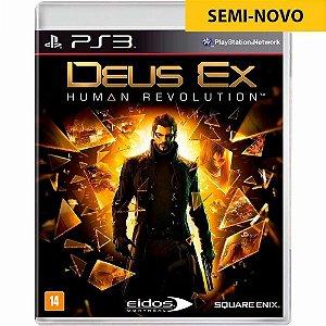 Jogo Deus Ex Human Revolution - PS3 (Seminovo)