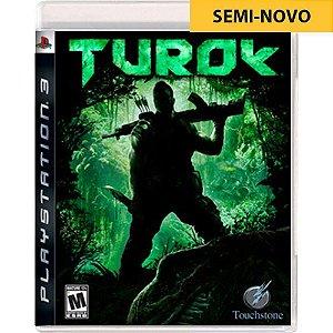 Jogo Turok - PS3 (Seminovo)