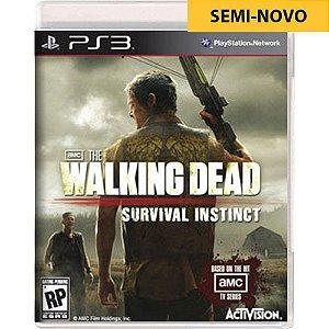 Jogo The Walking Dead Survival Instinct - PS3 (Seminovo)