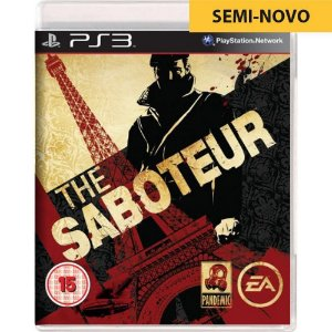 Jogo The Saboteur - PS3 (Seminovo)