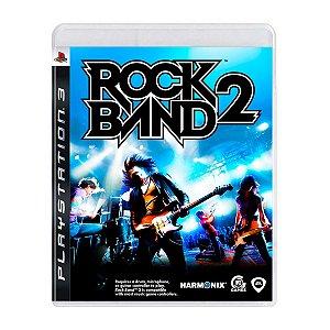Jogo Rock Band 2 - PS3 (Seminovo)