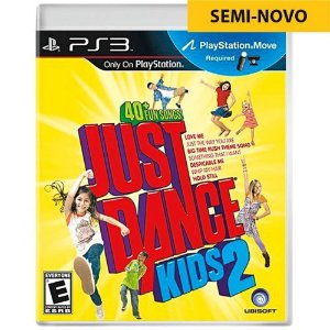 Jogo Just Dance Kids 2 - PS3 (Seminovo)