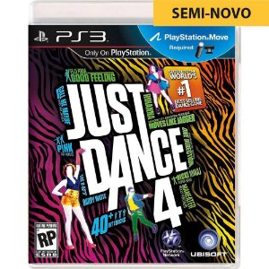 Jogo Just Dance 4 - PS3 (Seminovo)