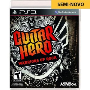 Jogo Guitar Hero Warriors of Rock - PS3 (Seminovo)