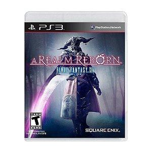 Jogo Final Fantasy XIV A Realm Reborn - PS3 (Seminovo)