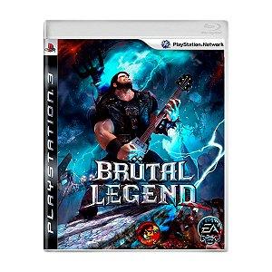 Jogo Brutal Legend - PS3 (Seminovo)