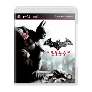 Jogo Batman Arkham City - PS3 (Seminovo)