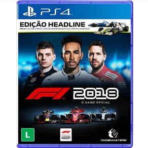 Jogo F1 2018 - PS4 (Seminovo)