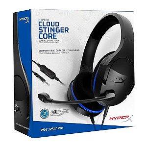 Headset Kingston Hyper X Cloud Stinger Core HX-HSCSC - PS4