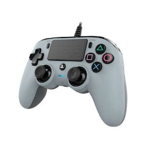 Controle Nacon Pro Controller Wired Cinza Com Fio - PS4