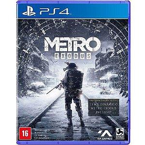 Jogo Metro Exodus - PS4 (Seminovo)