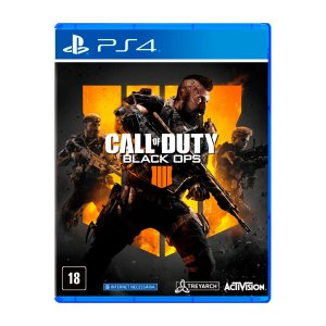 Jogo Call of Duty Black Ops 4 - PS4 (Seminovo)
