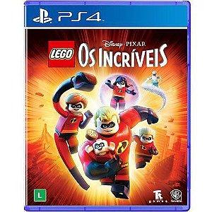Jogo LEGO Os Incríveis - PS4