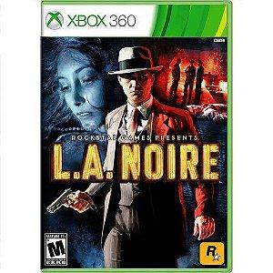 Jogo LA Noire - Xbox 360 (Seminovo)