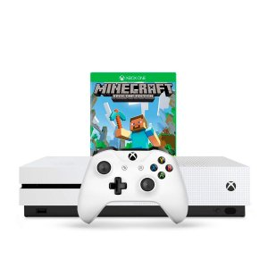 Console Xbox One S 1TB Branco + Jogo Minecraft