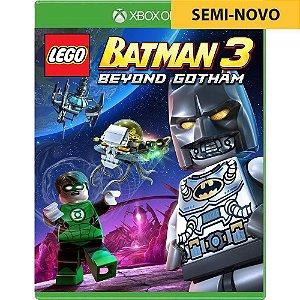 Jogo LEGO Batman 3 Beyond Gotham - Xbox One (Seminovo)