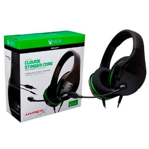 Headset Kingston Hyper X Cloud Stinger Core HX-HSCSCX - Xbox One