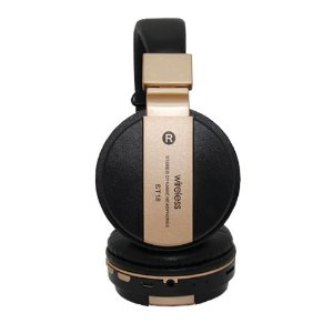 Fone de Ouvido SXZ ST18 Wireless Dourado