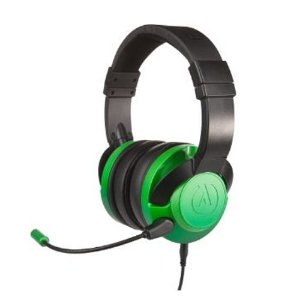 Headset Power A Fusion Wired Gaming Emerald Fade Com Fio - PS4 / Xbox One / Switch / Mobile / PC / MAC