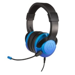 Headset Power A Fusion Wired Gaming Sapphire Fade Com Fio - PS4 / Xbox One / Switch / Mobile / PC / MAC
