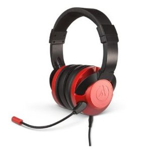 Headset Power A Fusion Wired Gaming Crimson Com Fio - PS4 / Xbox One / Switch / Mobile / PC / MAC