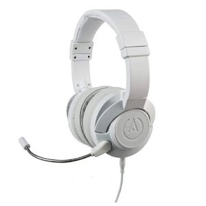 Headset Power A Fusion Wired Gaming Branco Com Fio - PS4 / Xbox One / Switch / Mobile / PC / MAC