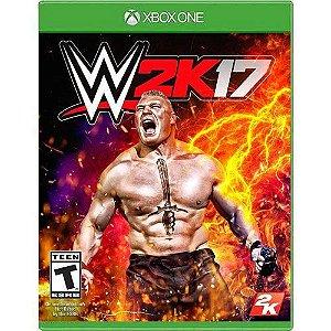 Jogo WWE 2K17 - Xbox One (Seminovo)