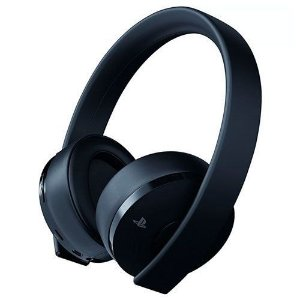 Headset Sony New Gold 7.1 Sem Fio Preto - PS4 (Seminovo)