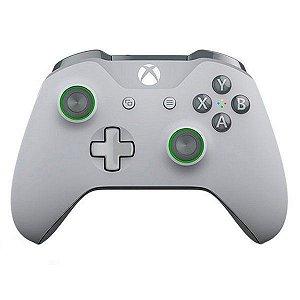 Controle Wireless Grooby Grey Green - Xbox One