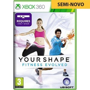 Jogo Your Shape Fitness Evolved - Xbox 360 (Seminovo)