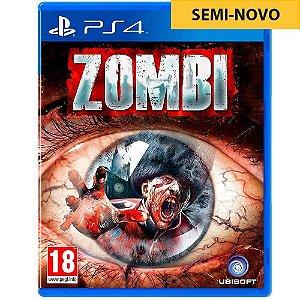 Jogo Zombi - PS4 (Seminovo)