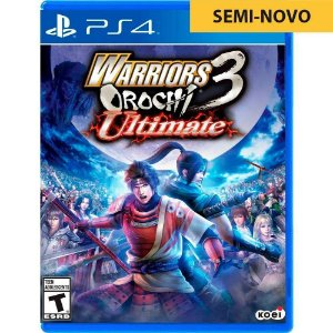 Jogo Warriors Orochi 3 Ultimate - PS4 (Seminovo)