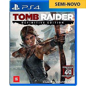 Jogo Tomb Raider Definitive Edition - PS4 (Seminovo)