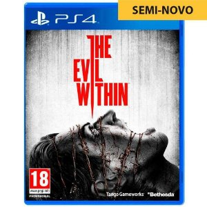 Jogo The Evil Within - PS4 (Seminovo)