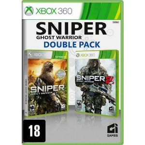 Jogo Sniper: Ghost Warrior (Double Pack) - Xbox 360 (Seminovo)