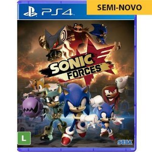 Jogo Sonic Forces - PS4 (Seminovo)