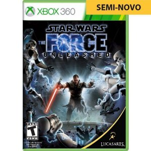 Jogo Star Wars The Force Unleashed - Xbox 360 (Seminovo)