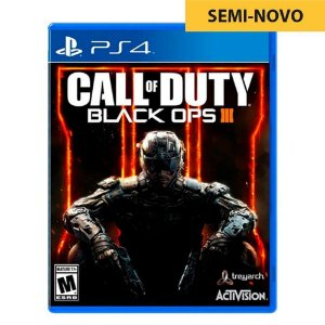 Jogo Call of Duty Black Ops III - PS4 (Seminovo)