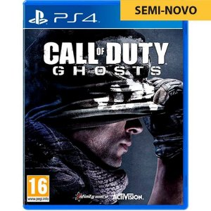 Jogo Call of Duty Ghosts - PS4 (Seminovo)