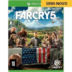 Jogo Far Cry 5 - Xbox One (Seminovo)