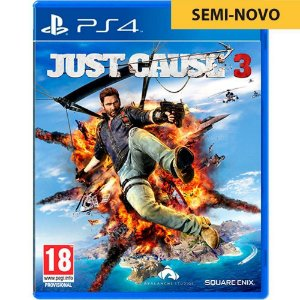 Jogo Just Cause 3 - PS4 (Seminovo)