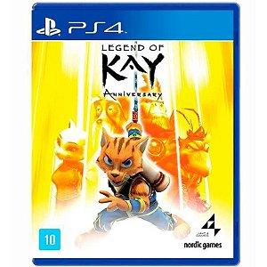 Jogo Legend of Kay Anniversary - PS4