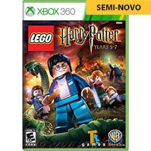 Jogo LEGO Harry Potter Years 5-7 - Xbox 360 (Seminovo)