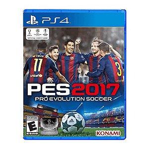 Jogo PES 2017 - PS4 (Seminovo)